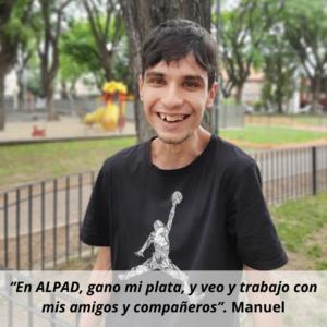 Trabajador Alpad - Manuel