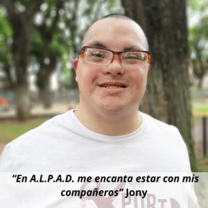 A.L.P.A.D. es mi lugar de pertenencia Martín. (2)