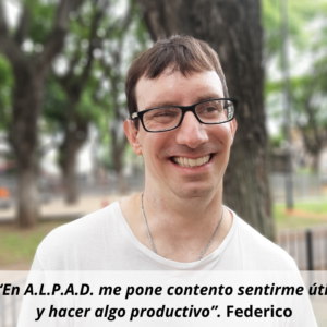 A.L.P.A.D. es mi lugar de pertenencia Martín. (3)